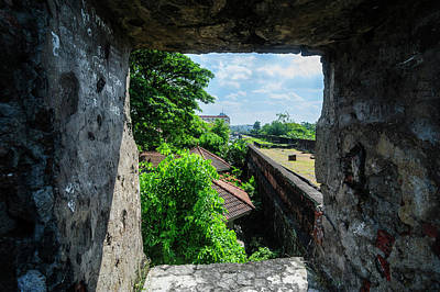 Watchtower Photograph - View Through The Old Watchtower by Michael Runkel