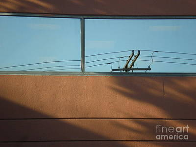 View To A Power Line Art Print