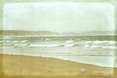 Beach Scenes Photograph - View To Point Lonsdale by Linda Lees