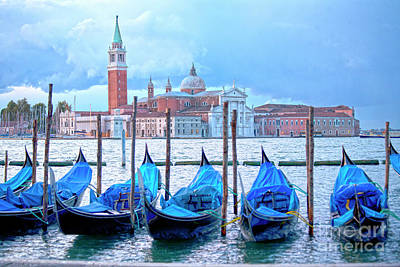 Ambience Photograph - View To San Giorgio Maggiore by Heiko Koehrer-Wagner