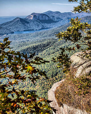 Caesars Head State Park Photograph - View To Table Rock by Lynne Jenkins
