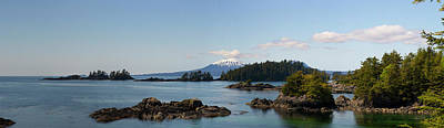 View Toward Mount Edgecumbe, Sitka Bay Art Print by Panoramic Images
