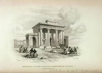 View Towards Berkhampstead Art Print by British Library