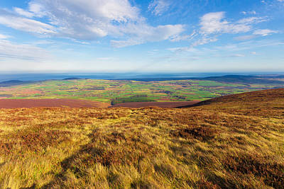 View Towards Greystones From The Wicklow Way Art Print by Semmick Photo