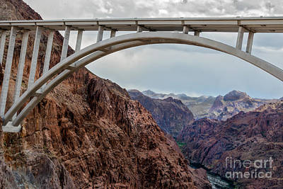 Photograph - View Under The Arch Bridge by Robert Bales