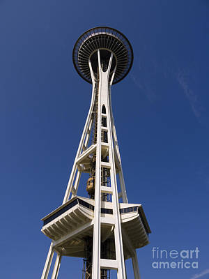 Photograph - Viewing From The Top Of Seattle by Brenda Kean