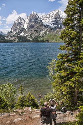Photograph - Viewing Jenny Lake by Brenda Kean