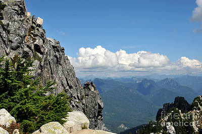 Photograph - Views For Pilchuck by Rebecca Parker