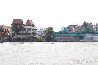 Thailand Photograph - Views From A River Boat Taxi In Bangkok Thailand - 011320 by DC Photographer