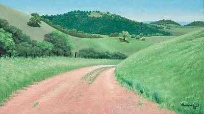 Views From Canada De Los Osos #2 Art Print