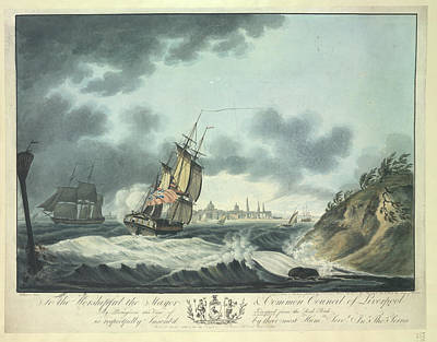 Land Feature Photograph - Views Of Liverpool by British Library