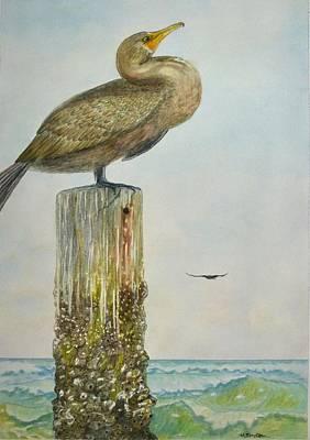 Ocean Painting - Vigilance by Hannah Boynton