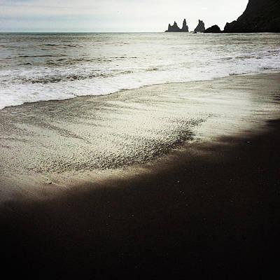 Landscapes Photograph - Vik Reynisdrangar Basalt Sea Stacks Iceland by Matthias Hauser