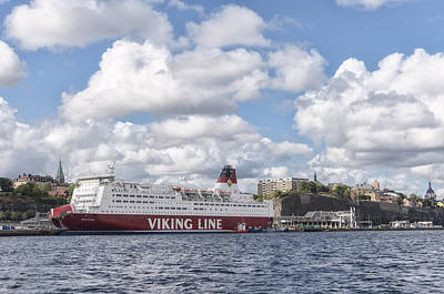 Photograph - Viking Line by Marianne Campolongo