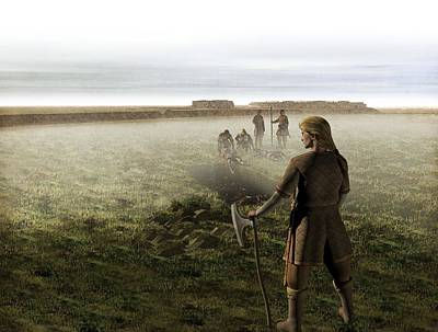 Custom Ring Photograph - Viking Mass Grave, Artwork by Science Photo Library