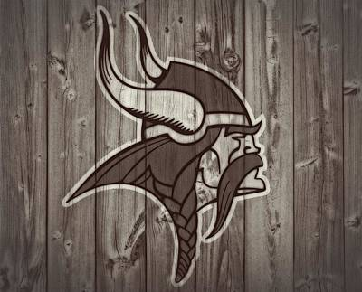 Vikings Barn Door Art Print by Dan Sproul