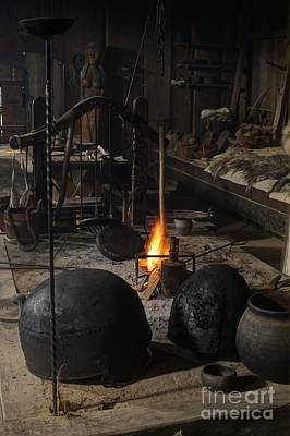 Photograph - Vikings Fireplace by Jorgen Norgaard