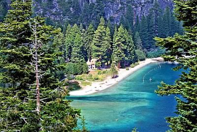 Photograph - Vikingsholm-lake Tahoe by Jane Girardot