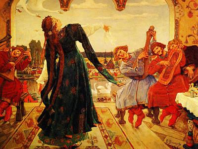 Viktor M Vasnetsov  Painting Art Print