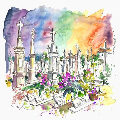 Vila Do Conde Cemetery Art Print