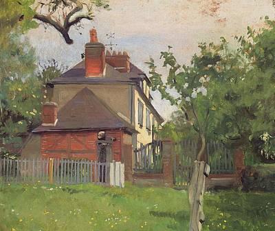 Nabis Painting - Villa Beaulieu Honfleur by Felix Edouard Vallotton