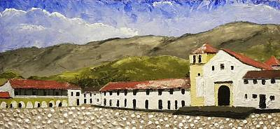 Villa De Leyva Colombia Art Print