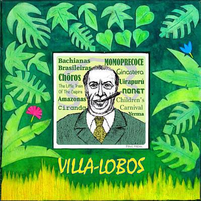 Villa-lobos Art Print