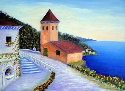 Villa Of Dreams Art Print