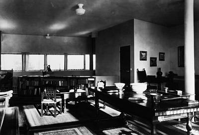 Stein Photograph - Villa Stein, 1927 by Granger