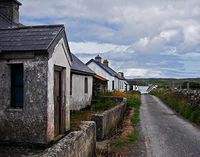 Connemara Digital Art - Village By The Sea by Vicki Lea Eggen