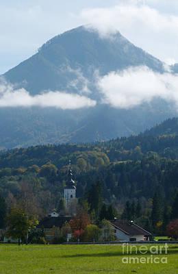 Photograph - Village Church - Austria by Phil Banks