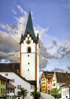 German Village Photograph - Village Engen by Sharon Foster