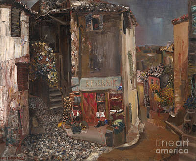 Orthodox Painting - Village Grocer by Celestial Images
