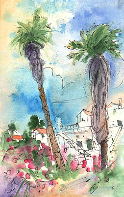 Painting - Village In Lanzarote 02 by Miki De Goodaboom