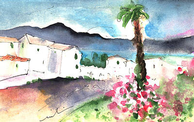 Painting - Village In Lanzarote by Miki De Goodaboom