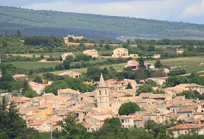 Photograph - Village In South France by Phoenix De Vries