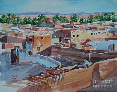 Painting - Village by Mohamed Fadul