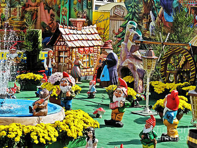 Photograph - Village Of Gnomes by Elvis Vaughn