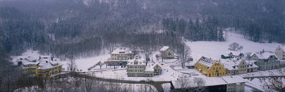 Thawing Photograph - Village Of Hohen-schwangau, Bavaria by Panoramic Images