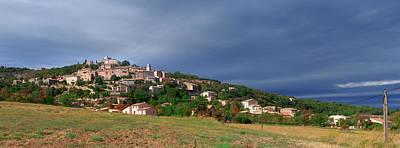 Village Of Simiane-la-rotonde Art Print