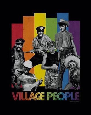 Village People Digital Art - Village People - Equalizer by Brand A