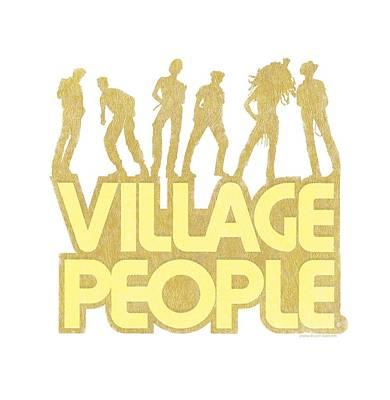 Village People Digital Art - Village People - Vp Pose by Brand A
