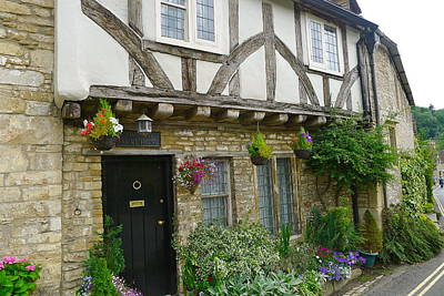 Photograph - Village Storefront In Castle Combe by Denise Mazzocco