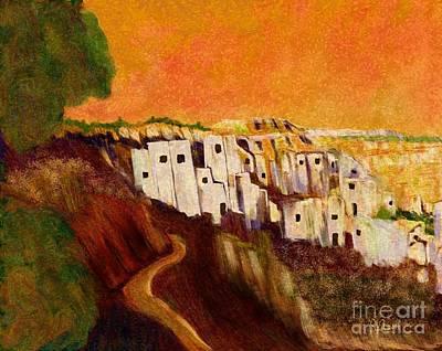 Villaggio Sunrise Art Print by Sydne Archambault