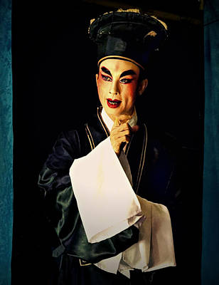 Photograph - Villain Of The Opera by Ian Gledhill