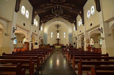 Photograph - Villalba Catholic Church Interior by Ricardo J Ruiz de Porras