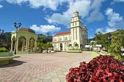 Photograph - Villalba Plaza And Church by Ricardo J Ruiz de Porras