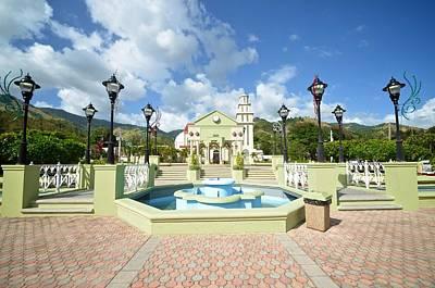 Photograph - Villalba Plaza by Ricardo J Ruiz de Porras