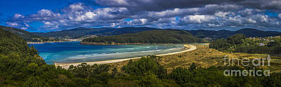 Photograph - Villarrube Beach Panorama Galicia Spain by Pablo Avanzini