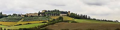 Photograph - Ville Di Corsano Near Siena - Tuscany Italy by Karen Stephenson